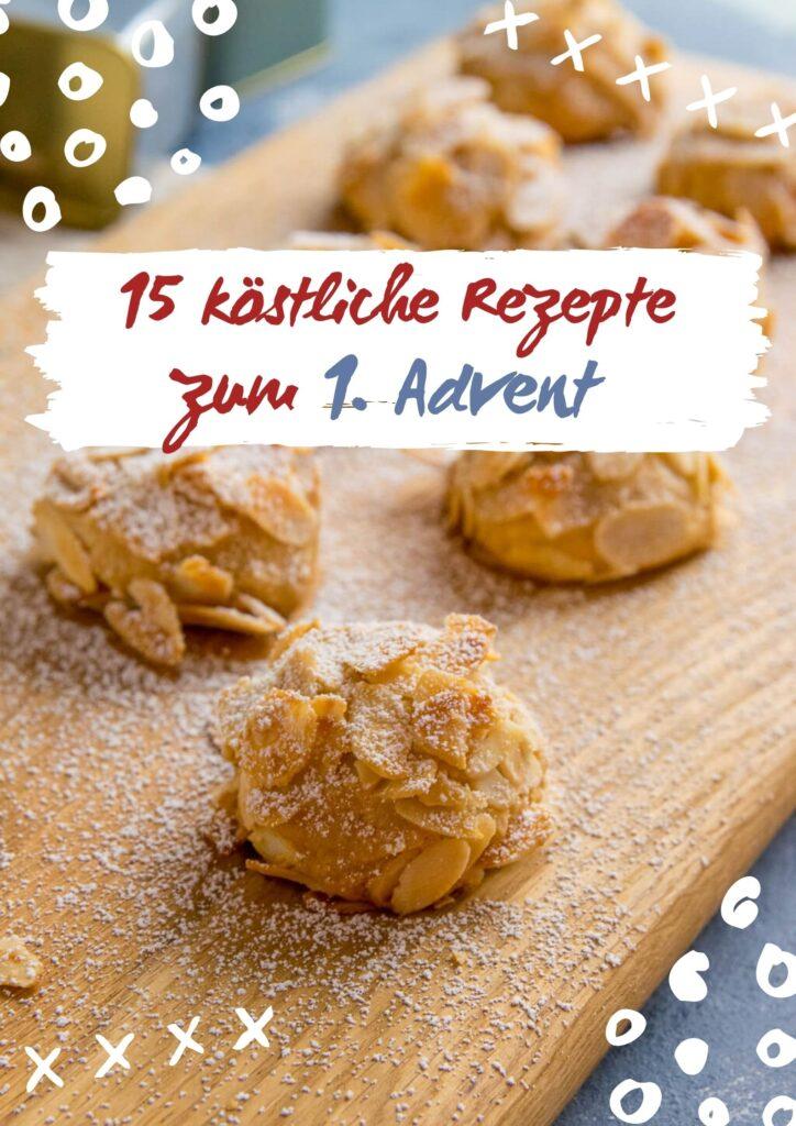 Pünktlich zum 1. Advent und dem offiziellen Backstart habe ich dir 15 leckere und einfache Weihnachtsrezepte zusammengestellt. Viel Spaß beim Kekse Backen.