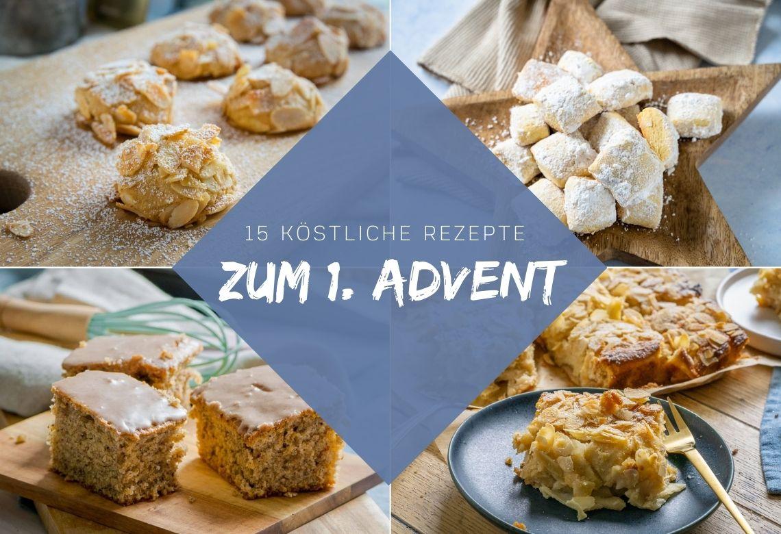 15 köstliche Weihnachtsrezepte für den 1. Advent