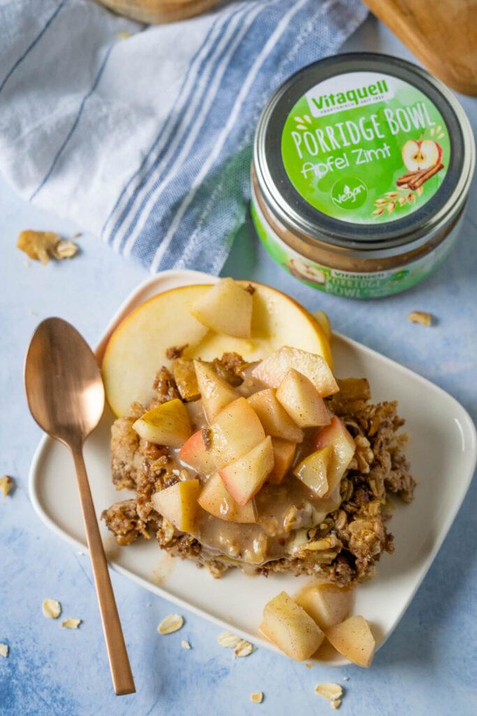 Neue Frühstücksliebe - warmes Baked Oatmeal