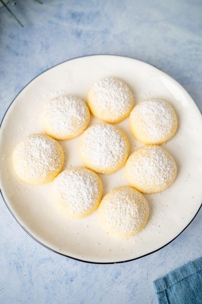 Super leckere Weihnachtskekse - Butterwölkchen