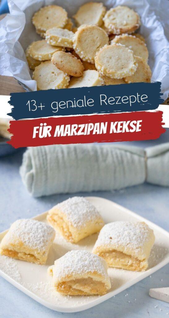 Meine besten Weihnachtskekse - diese 13 Kekse mit Marzipan sind einfach super lecker. Probiere dich diese einfachen & leckeren Rezepte! Du wirst sie lieben. #weihnachten #marzipan #keksebacken