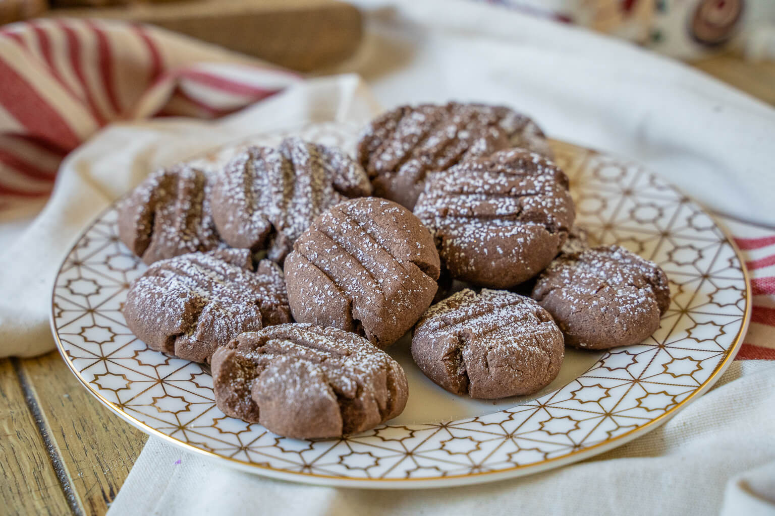 Köstliche Zarte Schoko Pudding Plätzchen - super kecker