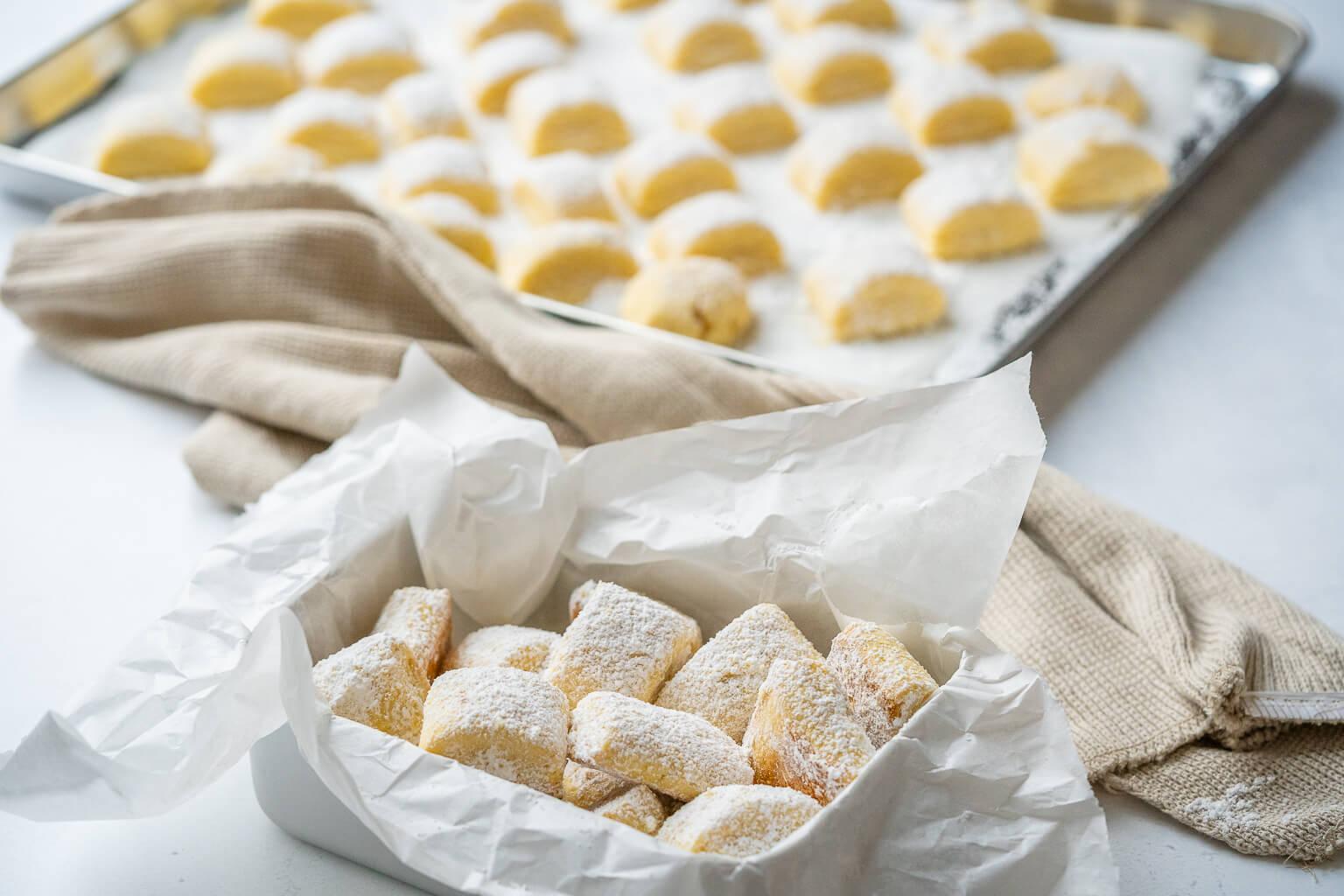 Alle lieben die Traumstücke - zauberhaftes Buttergebäck mit nur 6 Zutaten
