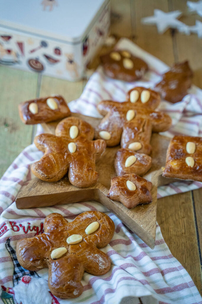Weiche Lebkuchenmänner - leckere Honigkuchen zum Ausstechen
