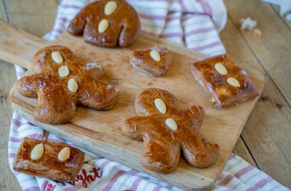 Honigkuchen Lebkuchen mit Roggenmehl
