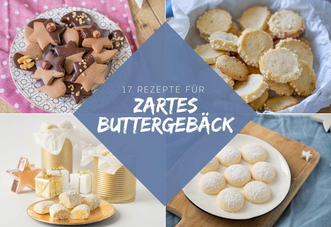 Die besten Weihnachtskekse – 17 Rezepte für zartes Buttergebäck