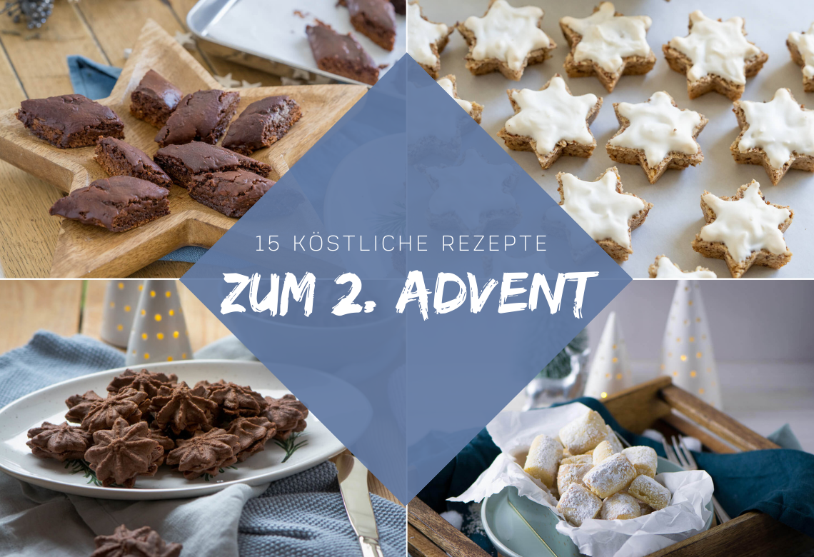 15 Rezepte zum 2. Advent