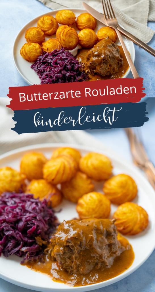 Super leckere Rouladen mit einer einfachen Zubereitung und köstlicher Sauce - kinderleicht zuzubereiten im Slowcooker - köstliches deftiges Wintergericht.