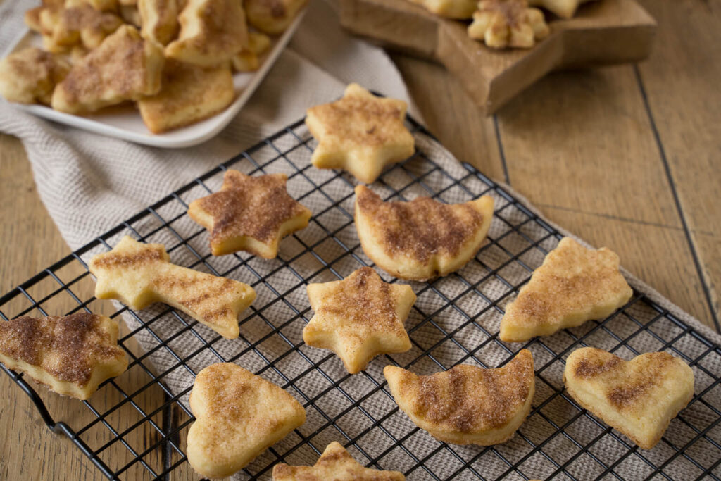 Rahmplätzchen - eine echte Überraschung beim Kekse backen