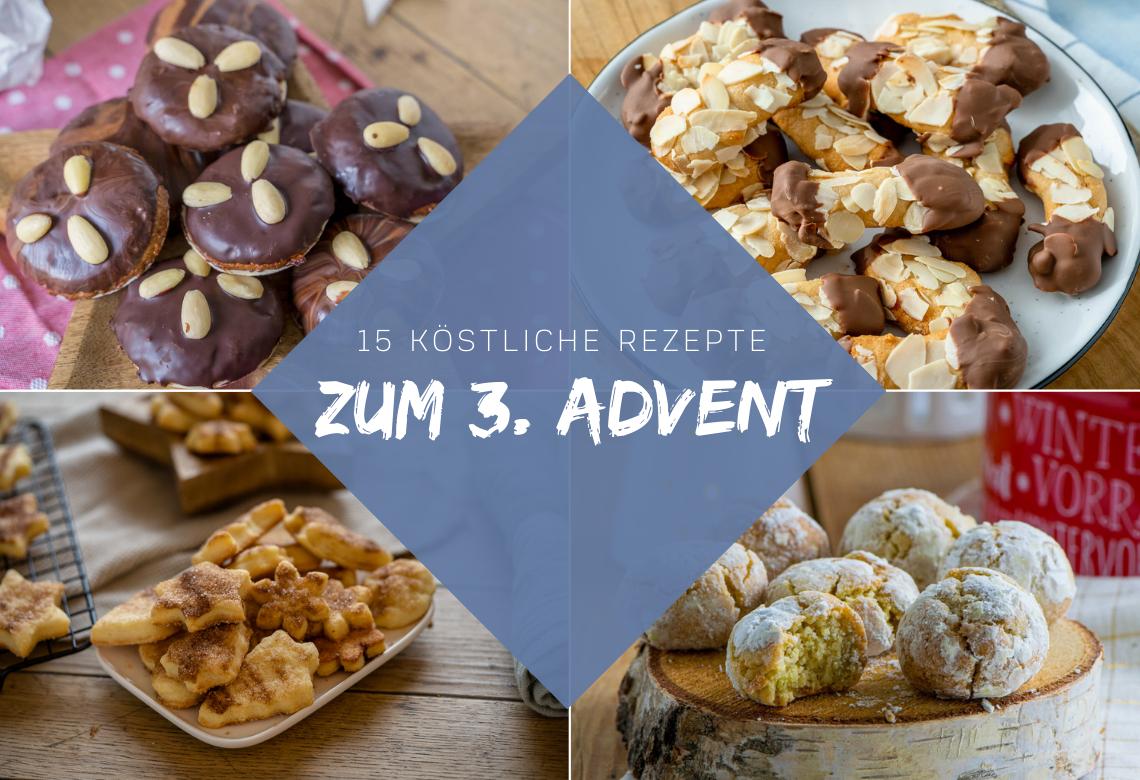 15 köstliche Weihnachtskekse für den 3. Advent