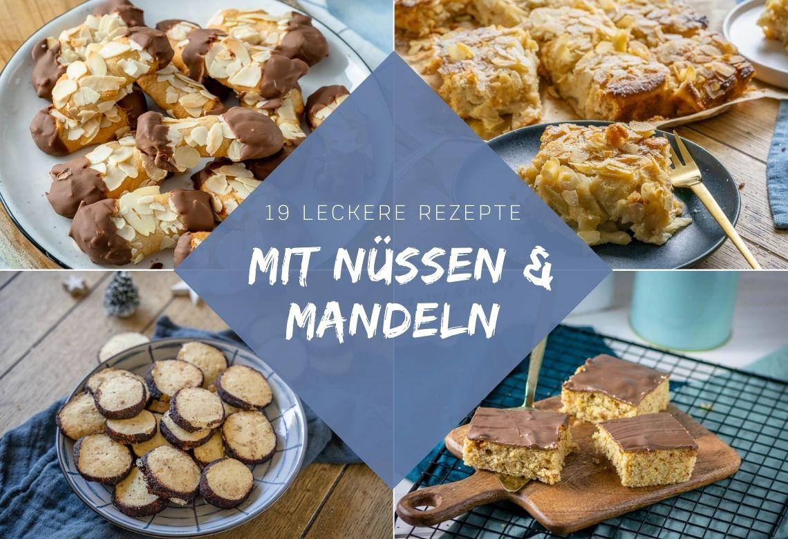 Rezepte für tolles Gebäck mit Mandeln und Nüssen