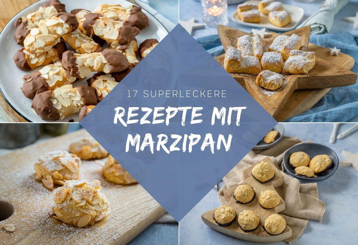 Rezepte für tolles Marzipan Gebäck