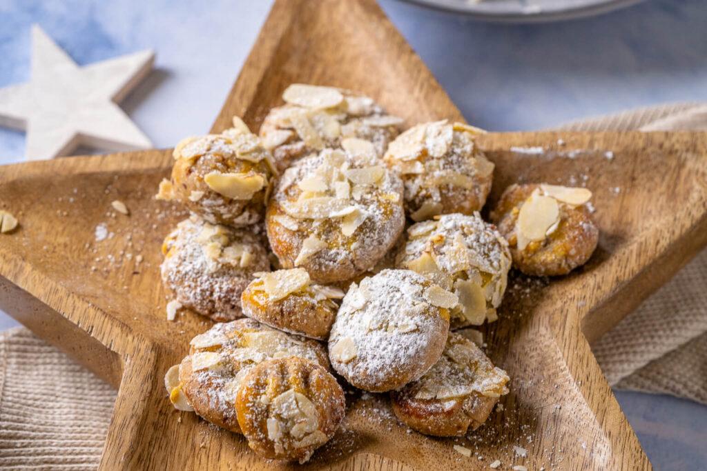 Schnelle Marzipan Mandel Kekse