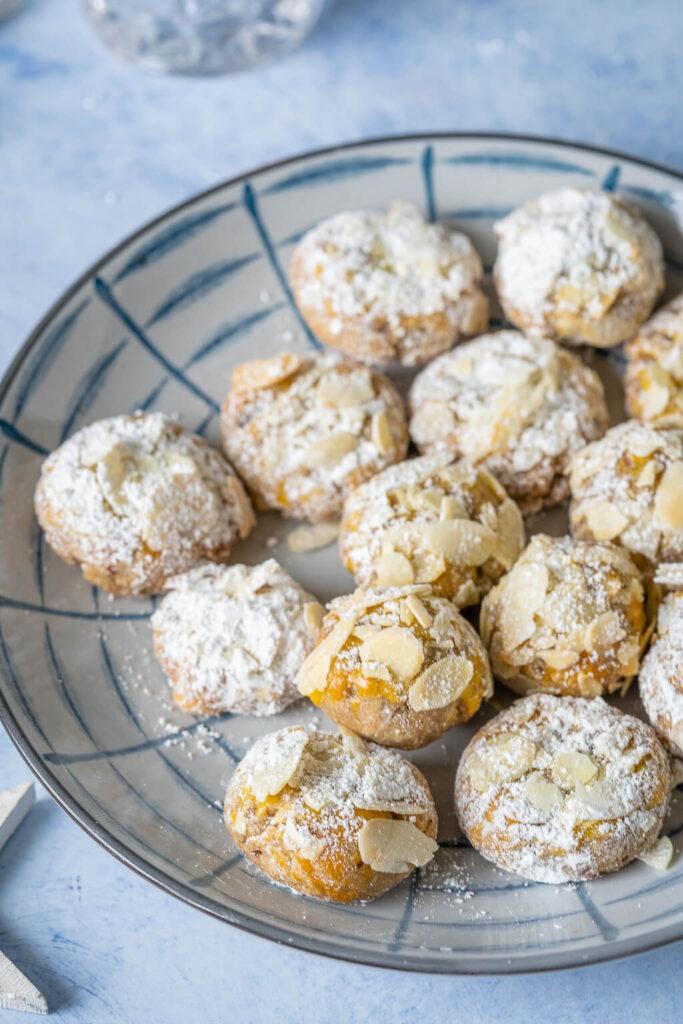 Schnelle Marzipan Plätzchen mit Mandeln und Zimt