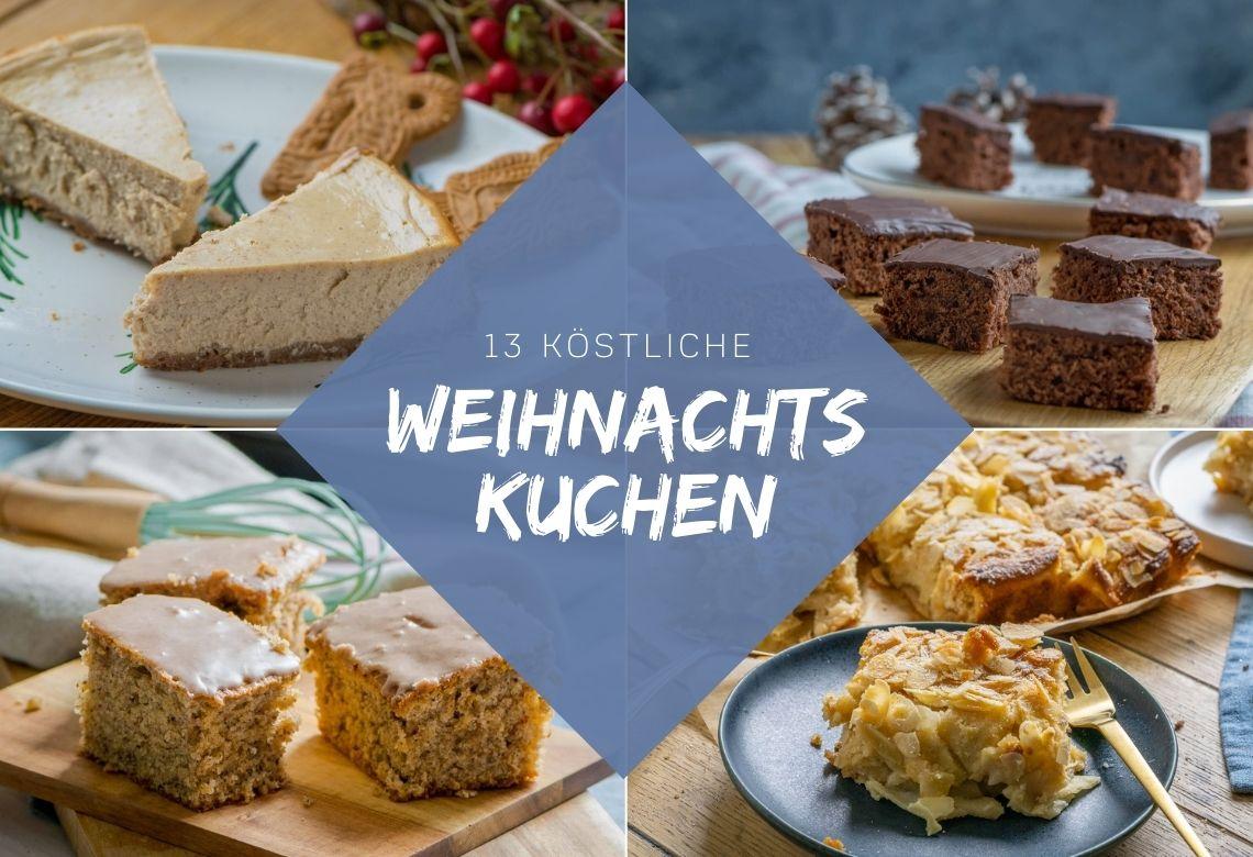 13 köstliche Weihnachtskuchen