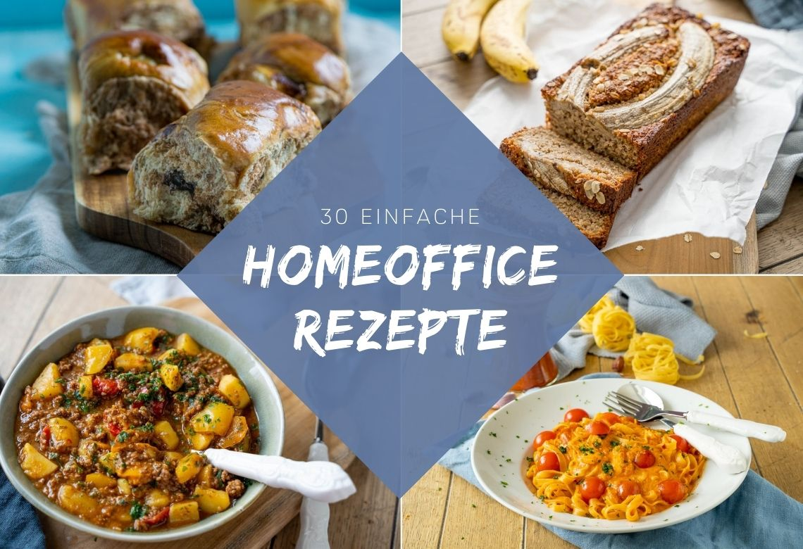 Rezepte für Homeoffice und Homeschooling