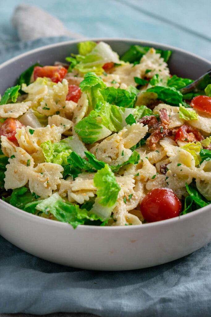 Yummy, Caesar Nudelsalat für Pastafans