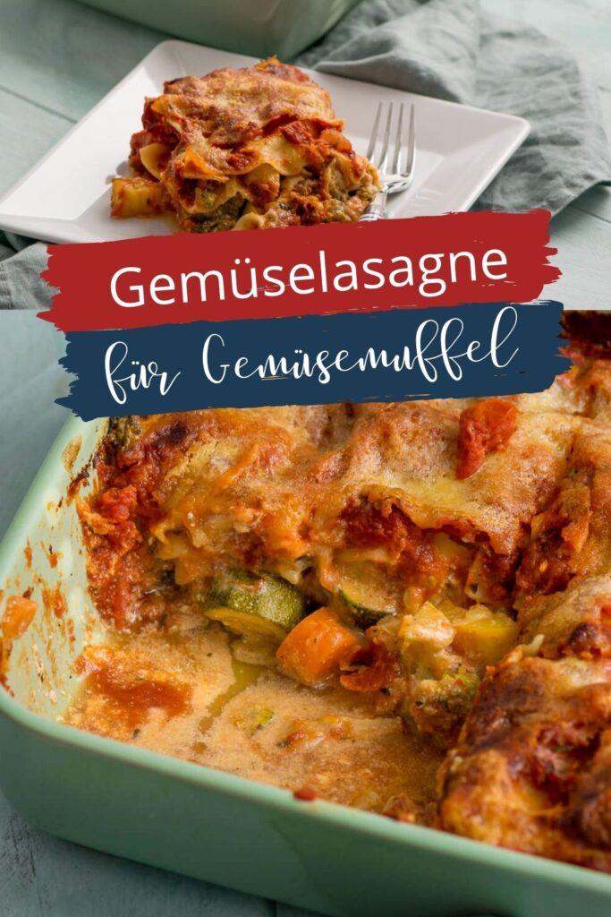 Alles was du für die Zubereitung der Gemüselasagne benötigst, ist etwas frisches (oder tiefgekühltes) Gemüse nach deinem Geschmack, etwas saure Sahne, Sahne, Käse, Tomaten passiert/Stücke sowie Lasagneplatten. Mit ein paar Kräutern, Salz und Pfeffer kannst du dem Geschmack dann pimpen.