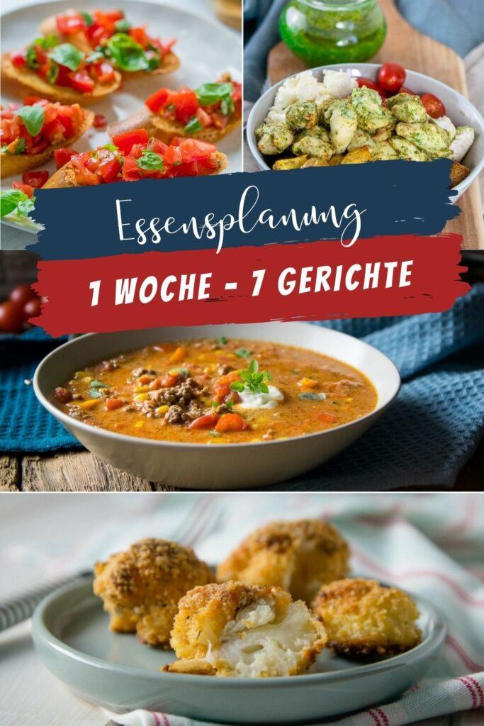 Hier findest du viele neue Ideen zum Kochen in der nächsten Woche. Leckere Gerichte für die ganze Familie - 7 mal kochen für jeden Geschmack.