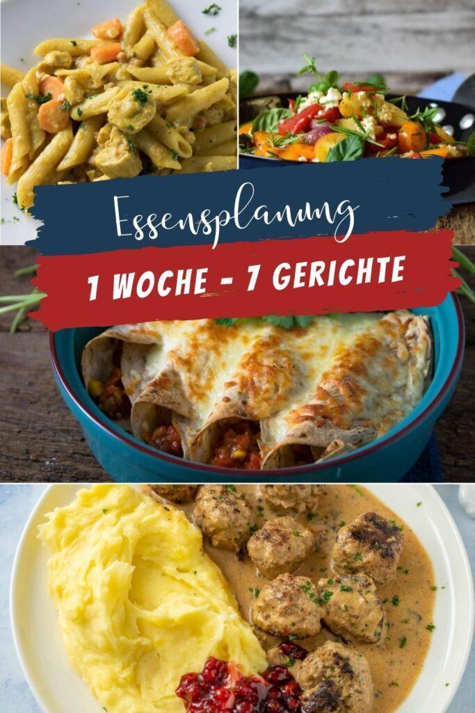 So viele leckere Gerichte zum Kochen in der nächsten Woche. Von Pasta über Köttbullar bis zu Burritos. Bei uns geht es in der nächsten Woche einmal um die Welt