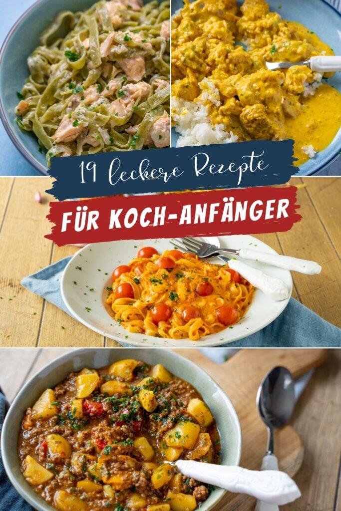 Kochen ohne Abstriche - diese Rezepte schmecken absolut lecker, obwohl sie so einfach zu kochen sind. Für Anfänger und alle die gerne kochen