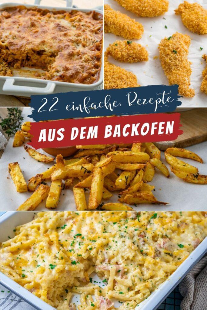 Einfach, schnell & lecker - solche Gerichte gibt es hier am liebsten aus dem Backofen. Aufläufe, Beilagen weitere leckere Gerichte erleichtern deinen Alltag