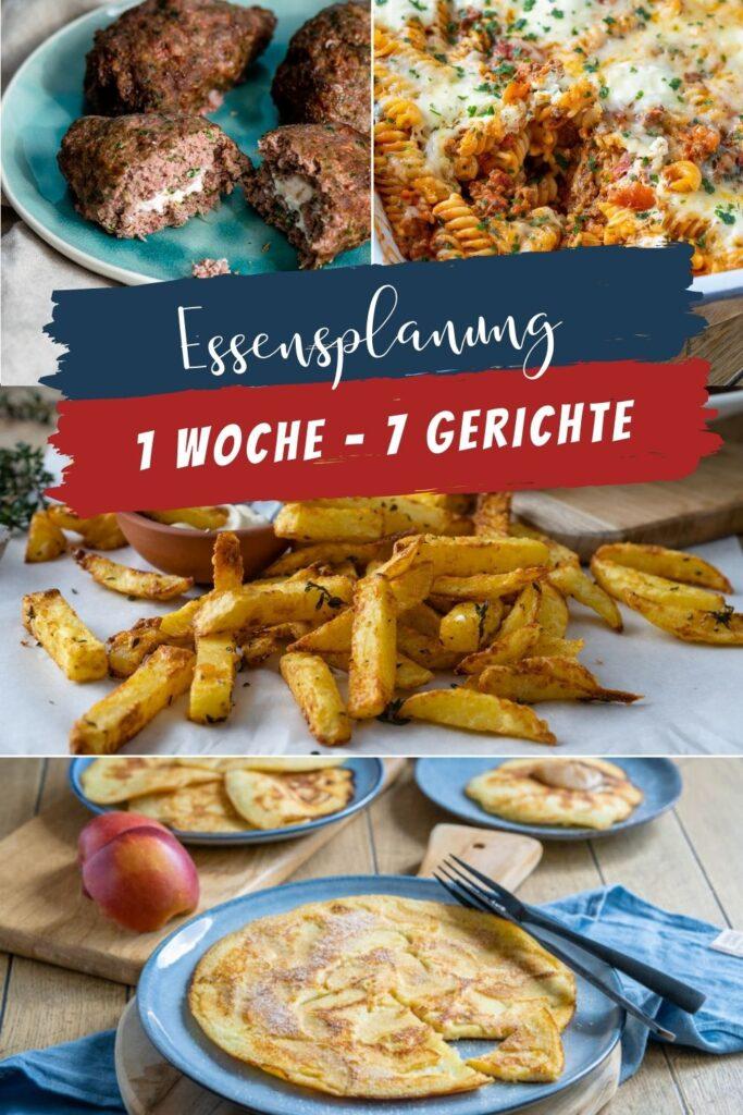 Dieser Wochenplan beinhaltet besonders einfache & unkomplizierte Gerichte für die Familie, ideal für Zwischendurch und zum flexibel essen.