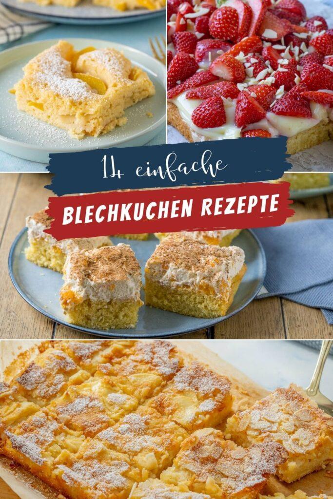 Geniale Rezepte für einfache Kuchen vom Blech. Die sind nicht nur lecker, sie lassen sich auch unkompliziert backen und natürlich genießen.
