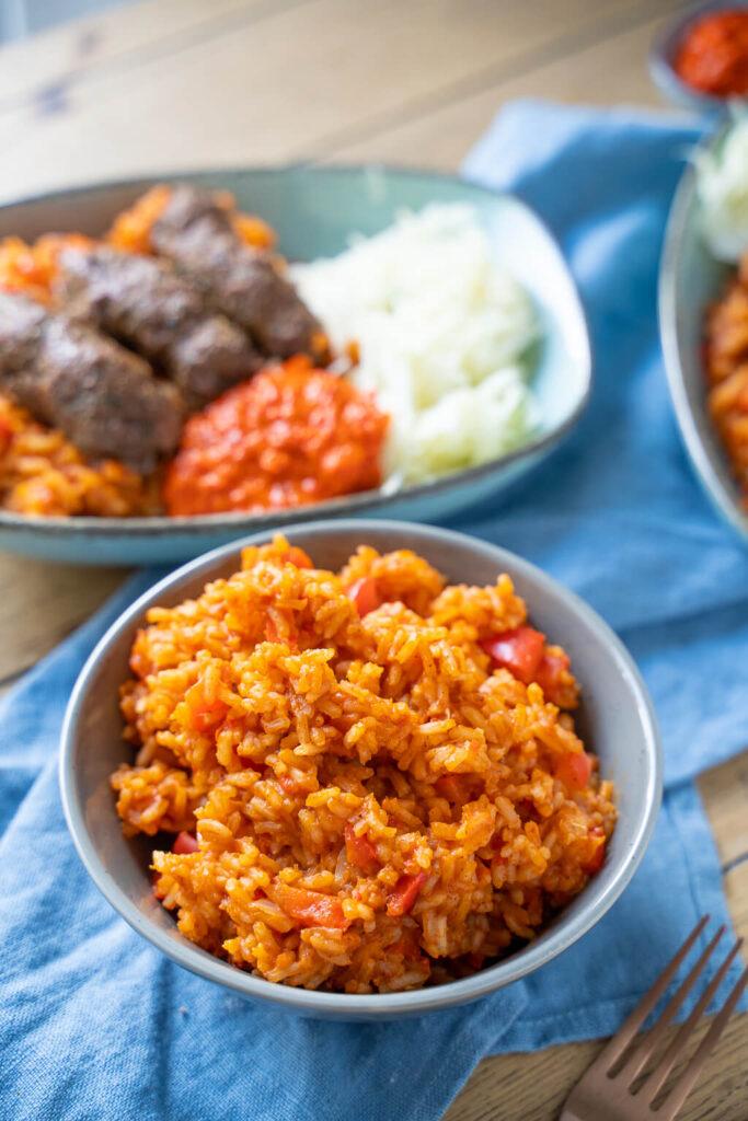 So lecker und so einfach - Djuvec Reis aus der Balkan Küche