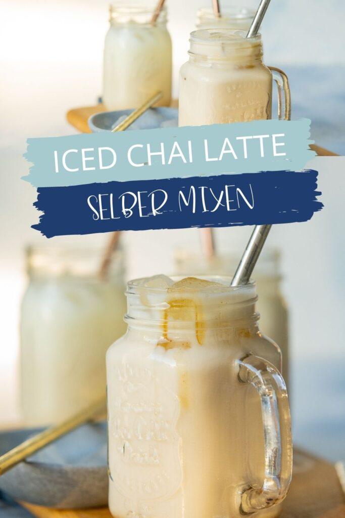 So einfach mixt du deinen eisgekühlten Sommerdrink selber. Den Sirup kannst du dafür ganz einfach selber herstellen.