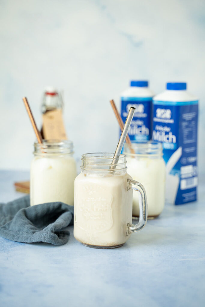 Iced Chai Latte - selbstgemachter Chai Sirup