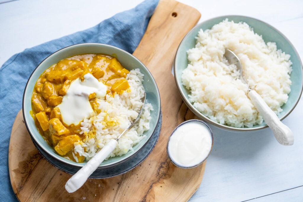 Dieses einfache Gericht schmeckt absolut genial - Madras Curry mit Ananas