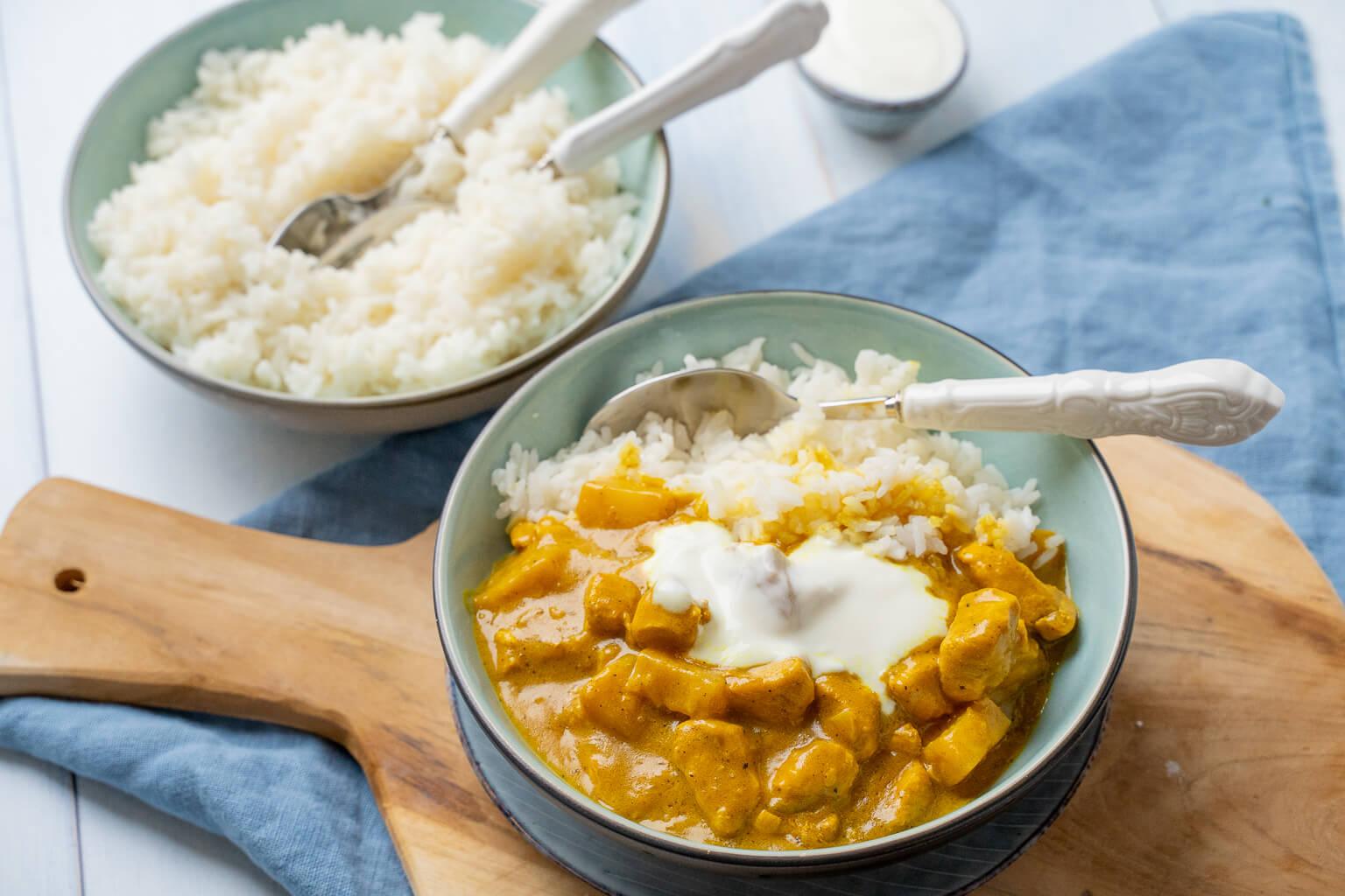 Madras Curry mit Ananas - so einfach geht's