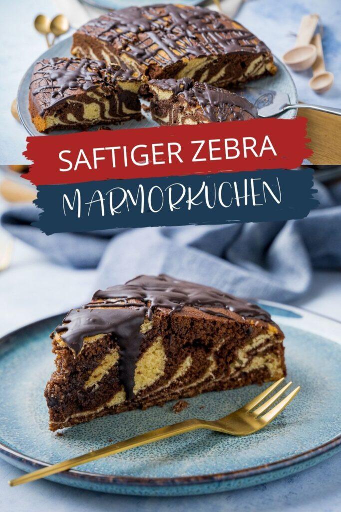 OMG, ist dieser Marmorkuchen saftig, er ist der perfekte Rührkuchen mit großer Suchtgefahr. Hast du also Lust auf einen leckeren und einfachen Marmorkuchen? Dieser einfache Marmorkuchen ist aber nicht nur saftig, er ist auch super easy zu backen und sieht dazu noch mega aus. Denn ich habe den Marmorkuchen als Zebrakuchen gebacken. Das ist viel einfacher als es ausschaut und sieht beim Anschneiden wirklich total super aus.
