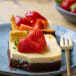 New York Cheesecake Brownies