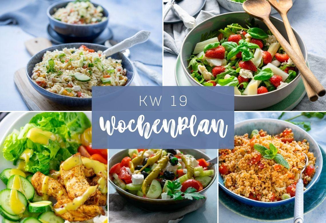 Leckere Salate für die ganze Woche - 7 Salate für 7 Tage