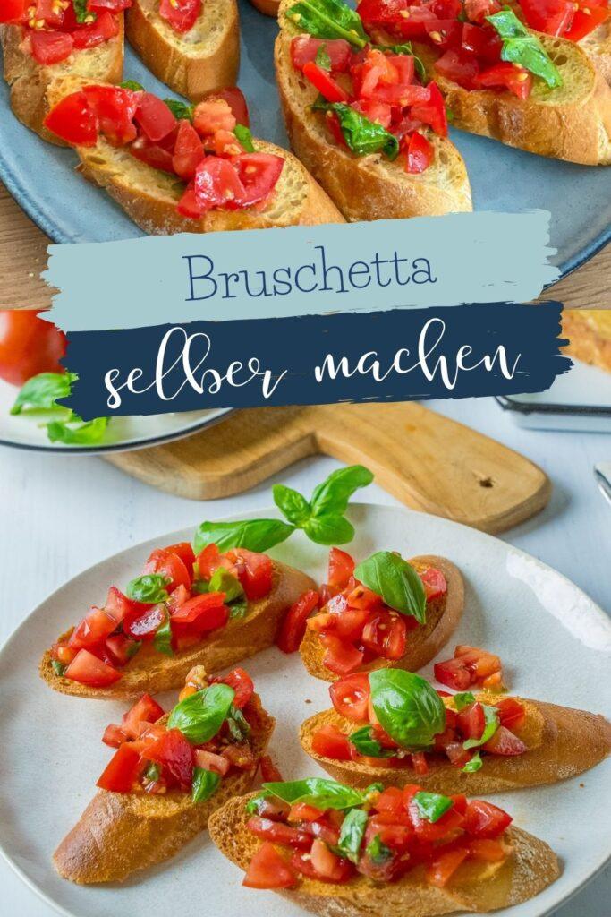 Köstliches Bruschetta wie bei deinem liebsten Italiener. Einfaches Rezept zum Selbermachen - Aromatisch, gelingsicher und mega lecker.