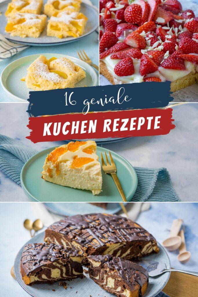Kuchen zum Verlieben - Die Kuchen schmecken himmlisch gut. Meine liebsten Kuchenrezepte haben ein großes Suchtpotential. Diese 16 Kuchen musst du probieren.