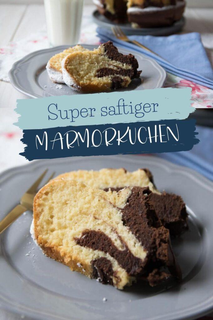 Dieser saftige Marmorkuchen ist ein echter Klassiker. Jeder der Kuchen mag, liebt diesen perfekten Marmor Guglhupf #lieblingskuchen