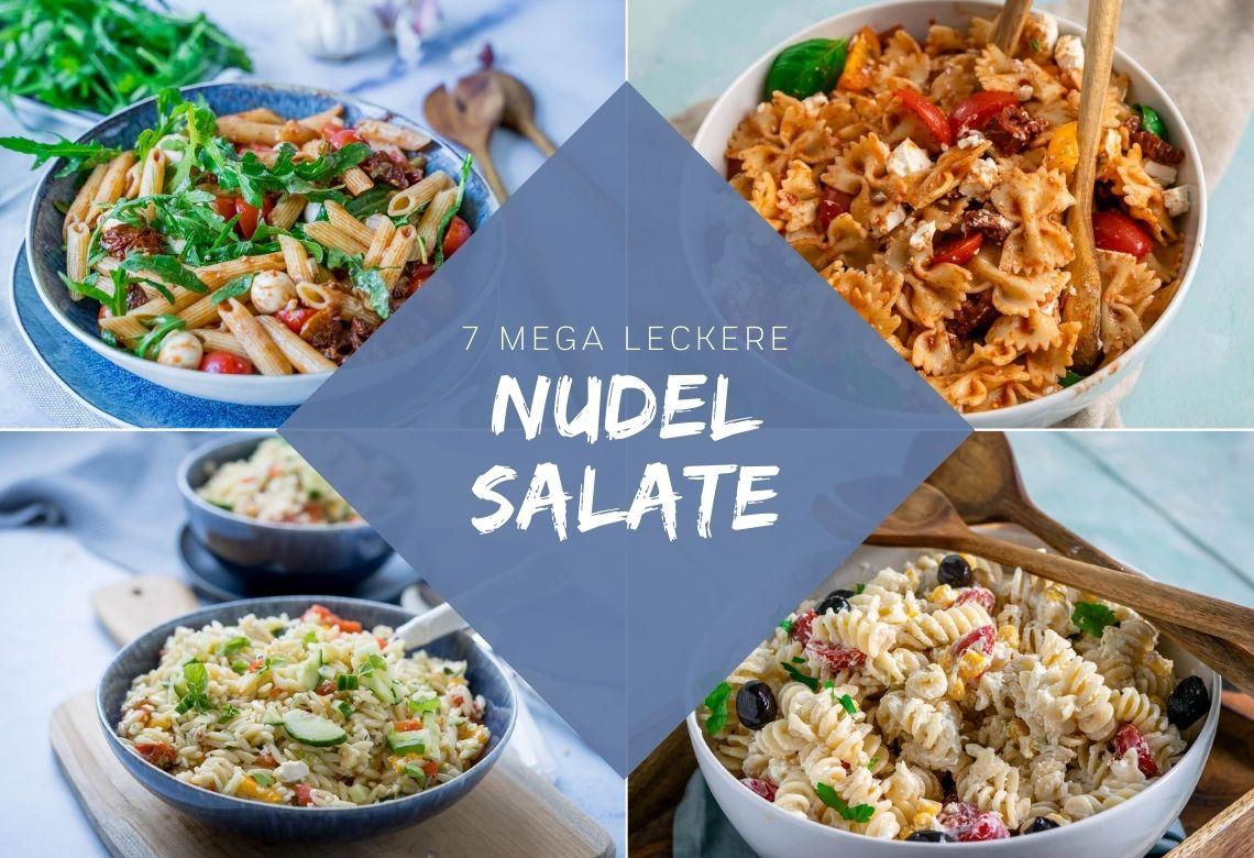 Leckere Nudelsalate für jeden Anlass - die schmecken nicht nur lecker, sie sind auch Ruck Zuck zubereitet