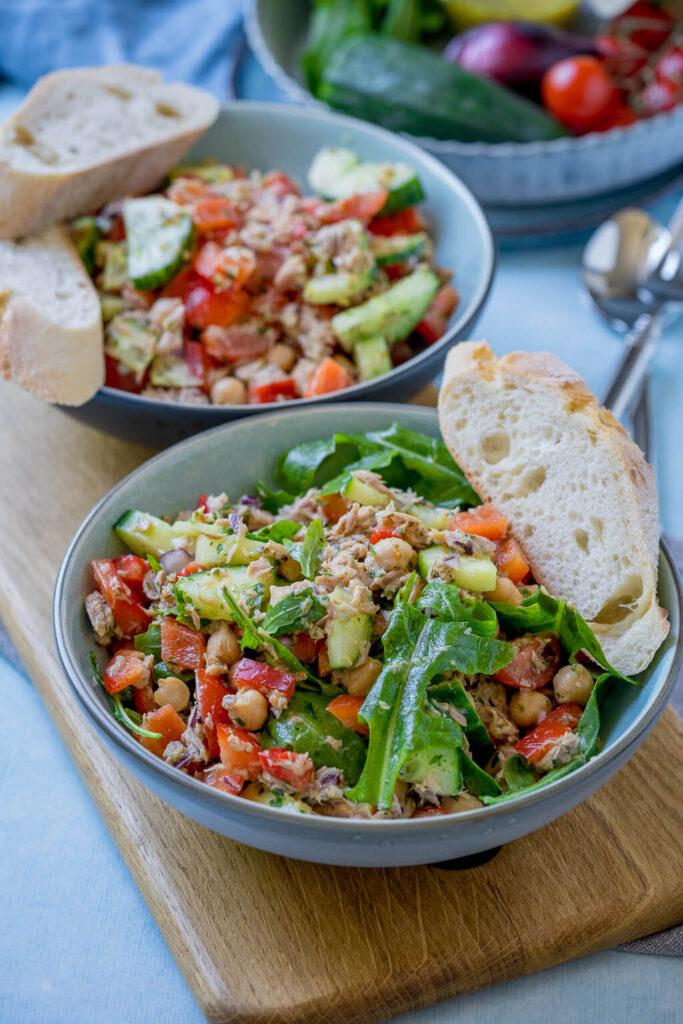 OMG, so lecker und so schnell fertig - Genial lecker - 10 Minuten Thunfisch Salat