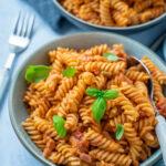 Leckere Tomatenpasta - fertig in 12 Minuten