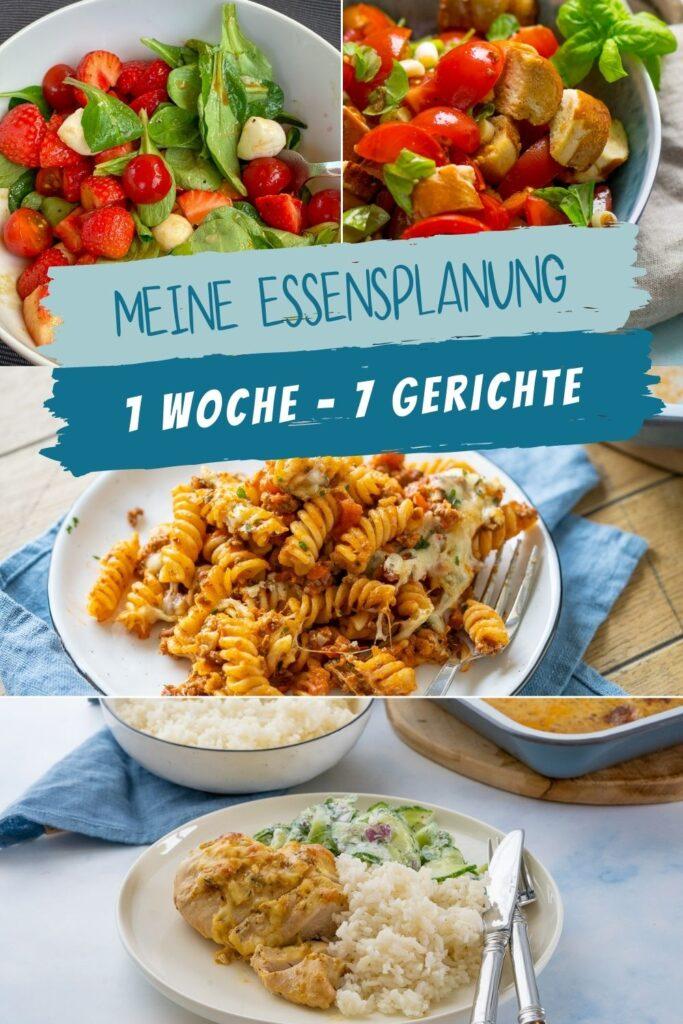 Auch in der KW 28 gibt es eine leckere Essensplanung. Leckere Gerichte mit Kartoffeln, Nudeln und geniale Salate warten auf dich.