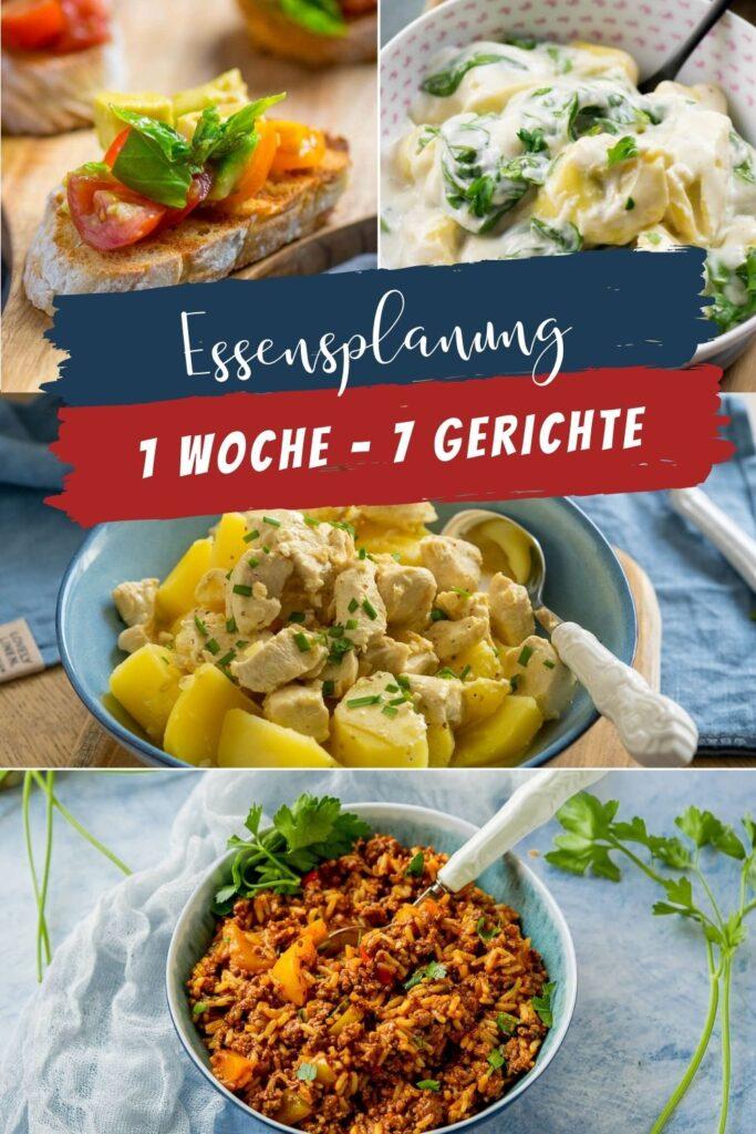 Der 1. Wochenplan im Juli enthält köstliche Gerichte für jede Wetterlage. Einfache Gerichte, leckere Snack und alles was glücklich macht. Reistopf, Senfsauce, Bruschetta und Tortellini sind nur ein Teil der Wochenplanung