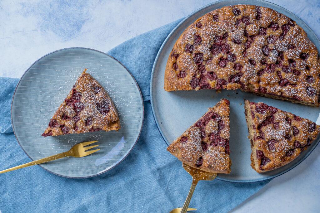 Yummy, leckerer Kirschkuchen - das ganze Jahr über perfekt zum Backen