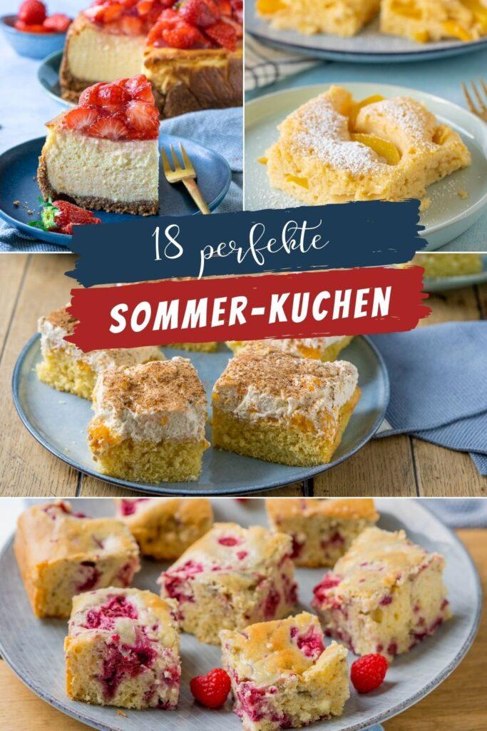 Super leckere Kuchenrezepte für den Sommer. Kuchenrezepte für die Sommermonate sind besonders beliebt - finde dein eigenen neuen Lieblingskuchen mit oder ohne Obst. Genieße die Zeit mit deinen Freunden in  diesem Sommer mehr denn je und überrasche sie mit einem der leckeren Kuchen - sie werden dich dafür lieben