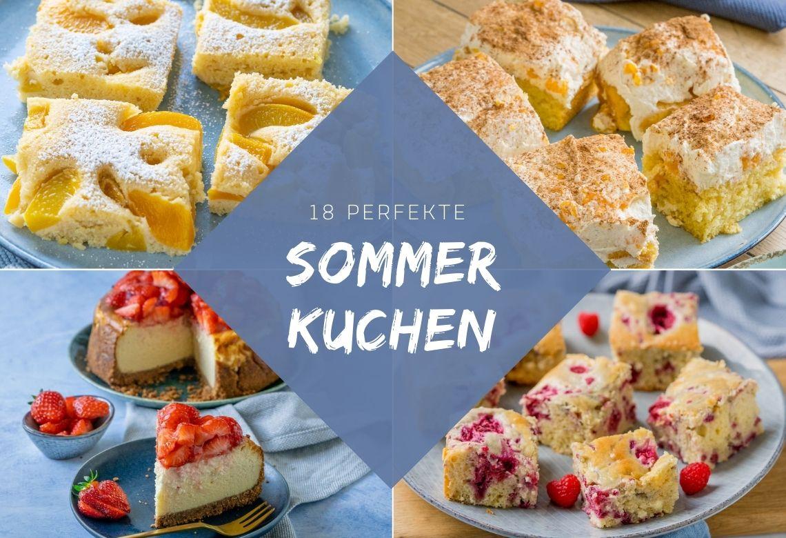 18 super leckere Kuchen für die Sommermonate