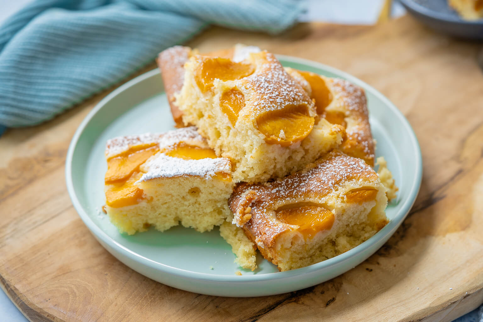 Pfirsich Joghurt Kuchen