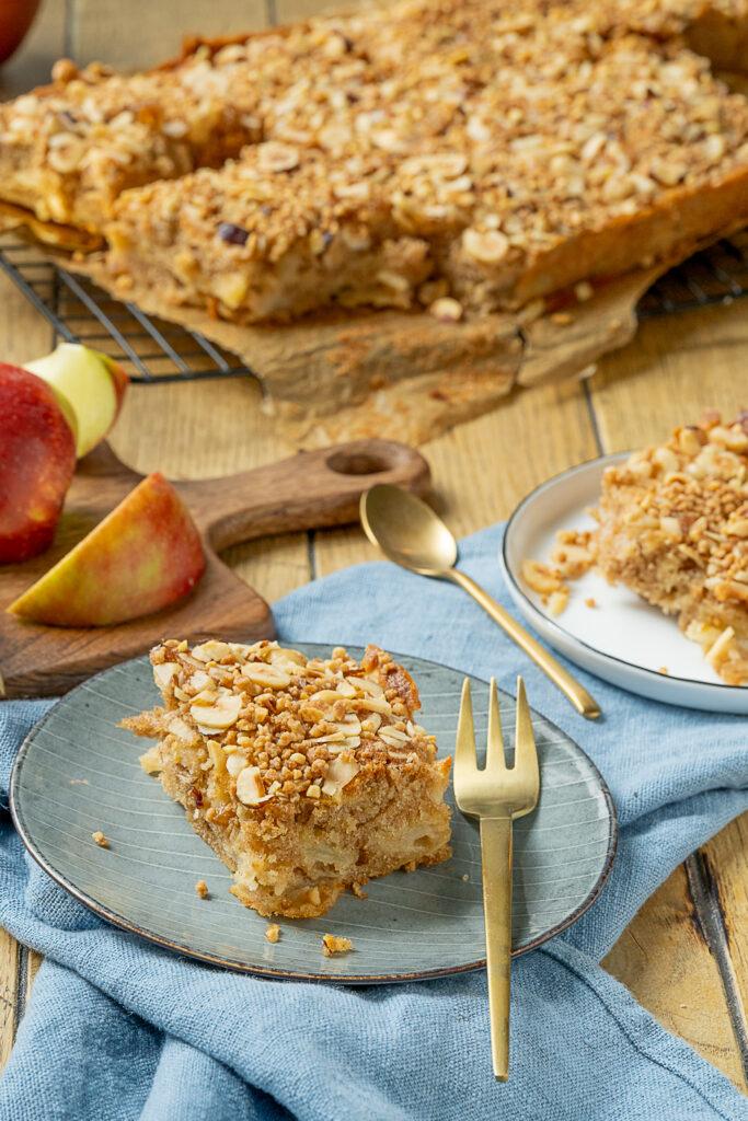 Leckerer Apfelkuchen vom Blech