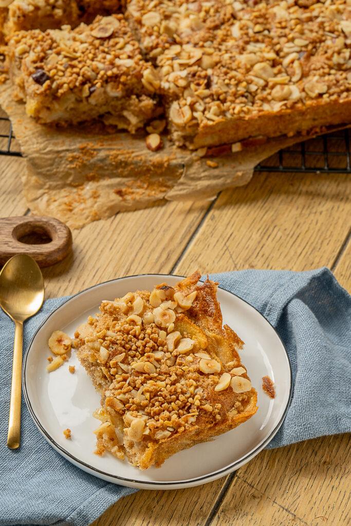 Fluffig weicher Apfelkuchen